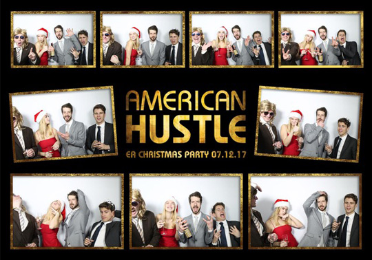 American Hustle Christmas Party