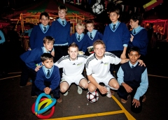 Freestyle football parties for children