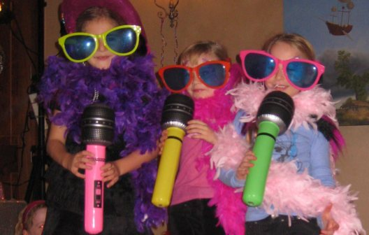 Mini discos for children's parties organised and planned by SN2R Ltd