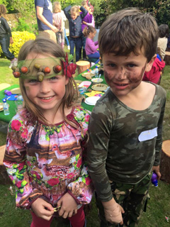 Woodland adventure children's party theme, magical themed kids parties, outside parties for children