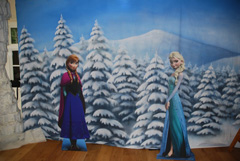 Children's party Frozen theme organised and planned by SN2R Ltd