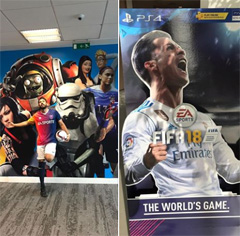 FIFA18 product launch