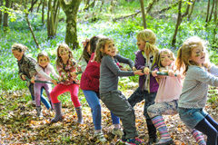 Outdoor adventure party themes for children