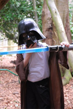 Children's parties Star Wars theme organised and planned by SN2R Ltd
