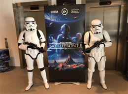 Stomptroopers product launch